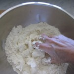mixing-pie-crust