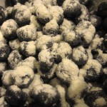 Floured Blueberries