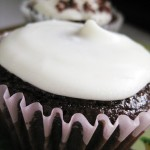 Frosted Guinness Cupcake
