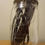 Vanilla Beans in Airtight Jar