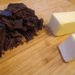 Chopped Bittersweet Chocolate and Unsalted Butter