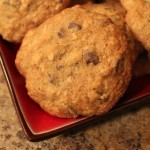 Chocolate Oatmeal Raisin Cookies for Slider