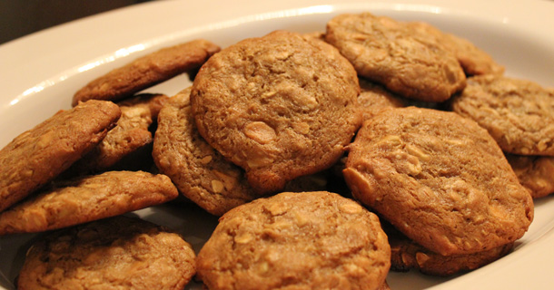 Peach Butter & Butterscotch Cookies